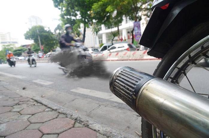 Chương trình đo kiểm khí thải xe máy sẽ được sử dụng để xem xét triển khai việc hỗ trợ tiền cho người dân đổi xe máy cũ, mua xe mới