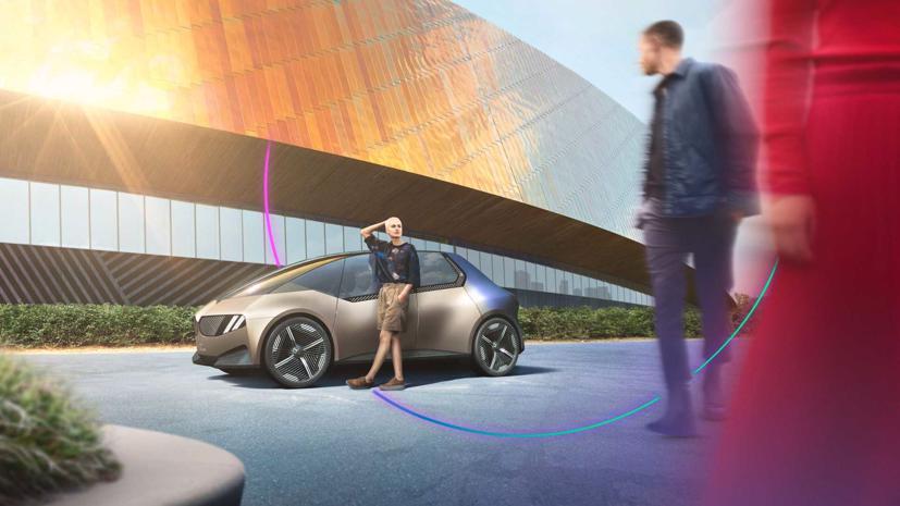 BMW i Vision – Xe đô thị tái chế độc đáo - Ảnh 1