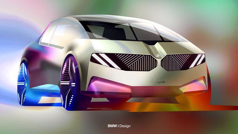 BMW i Vision – Xe đô thị tái chế độc đáo - Ảnh 3