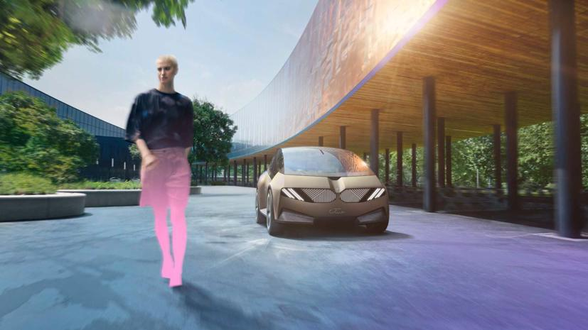 BMW i Vision – Xe đô thị tái chế độc đáo - Ảnh 2