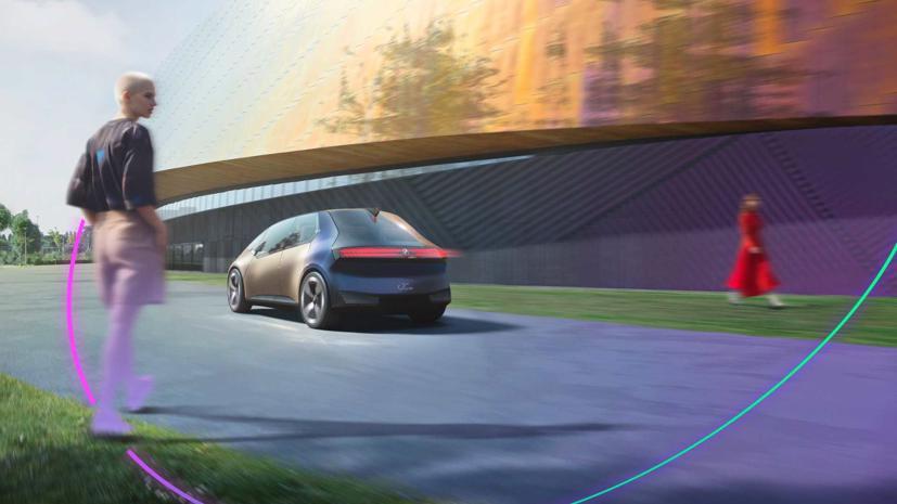 BMW i Vision – Xe đô thị tái chế độc đáo - Ảnh 4