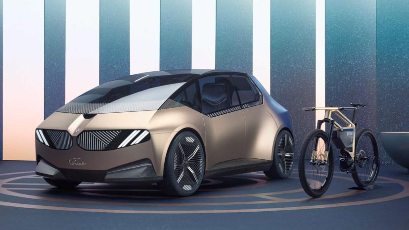 BMW i Vision – Xe đô thị tái chế độc đáo - Ảnh 6