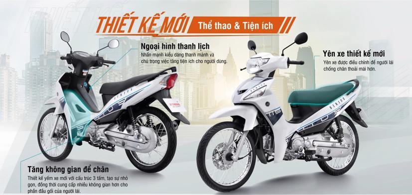 Loạt xe máy Yamaha mới vừa ra mắt thị trường Việt Nam - Ảnh 3