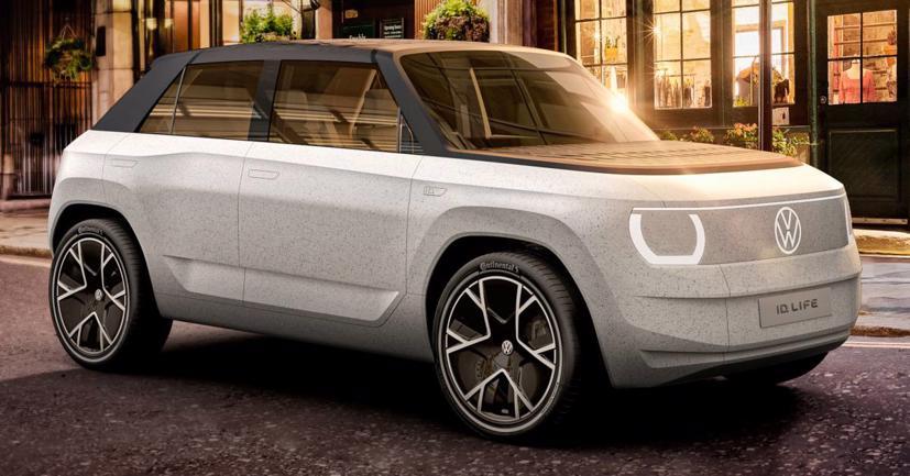 Volkswagen ID. Life concept: Khi xe hơi là rạp chiếu phim di động, trung tâm trò chơi - Ảnh 1