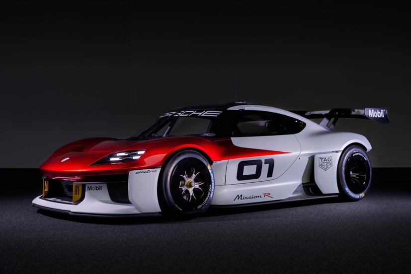 Porsche tiết lộ concept xe đua chạy hoàn toàn bằng điện - Ảnh 1