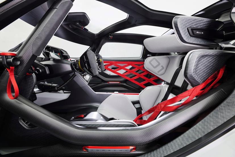 Porsche tiết lộ concept xe đua chạy hoàn toàn bằng điện - Ảnh 6