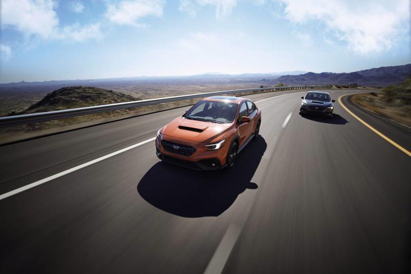 Subaru WRX 2022 ra mắt: Mạnh mẽ hơn với thiết kế, nền tảng mới - Ảnh 1