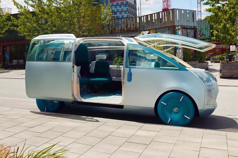 Mini Vision Urbanaut– Xe minivan phong cách tương lai có thể được sản xuất - Ảnh 1