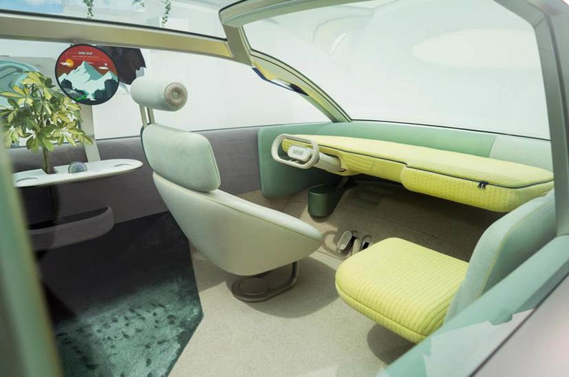 Mini Vision Urbanaut– Xe minivan phong cách tương lai có thể được sản xuất - Ảnh 2