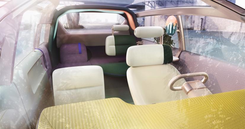Mini Vision Urbanaut– Xe minivan phong cách tương lai có thể được sản xuất - Ảnh 6