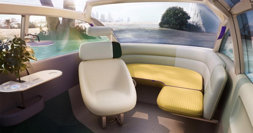 Mini Vision Urbanaut– Xe minivan phong cách tương lai có thể được sản xuất - Ảnh 8
