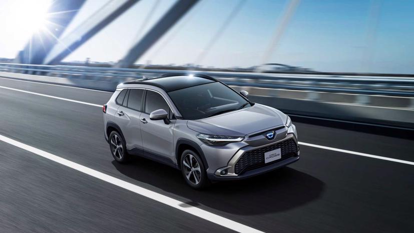 Toyota Corolla Cross 2022 ra mắt tại quê nhà Nhật Bản - Ảnh 1