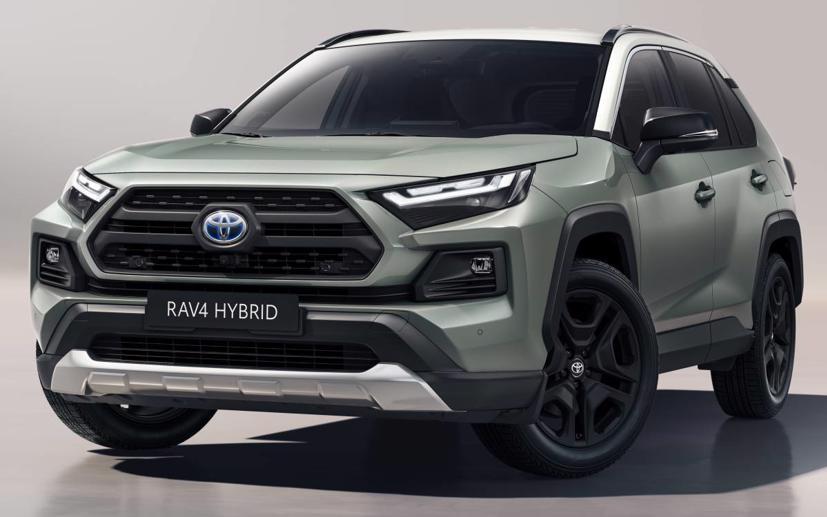 Toyota RAV4 2022 hình ảnh thực tế lộ diện: Đèn pha, bánh xe và cổng USB-C mới - Ảnh 1