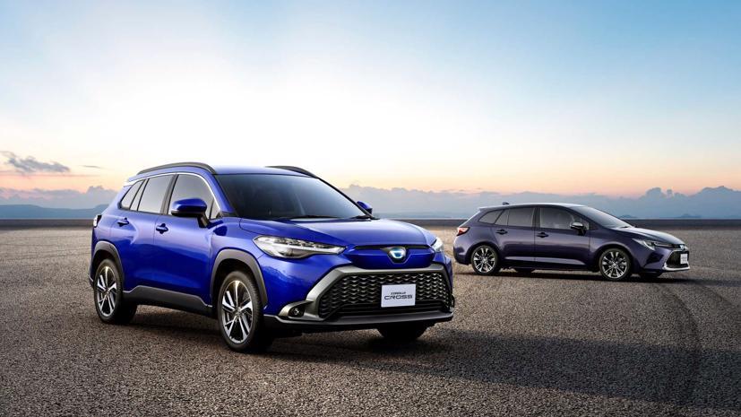 Toyota Corolla Cross 2022 ra mắt tại quê nhà Nhật Bản - Ảnh 3