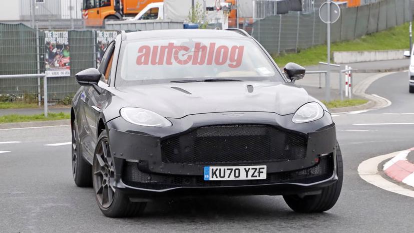 Hé lộ hình ảnh siêu SUV Aston Martin DBX có thể sở hữu động cơ mạnh hơn  - Ảnh 4