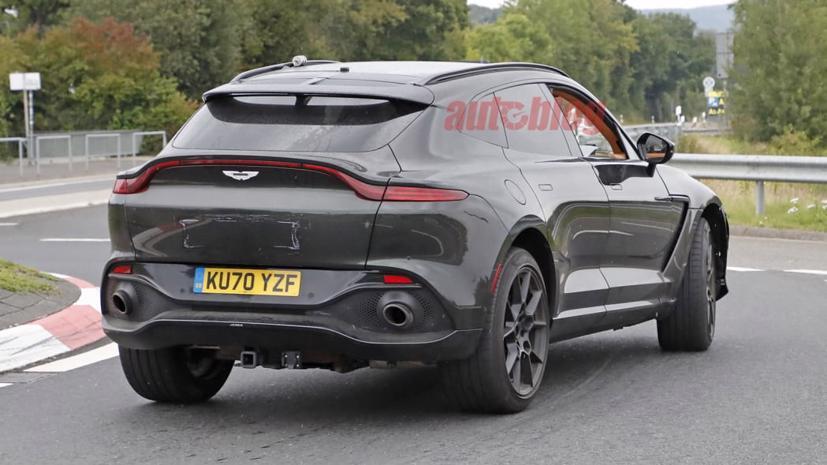 Hé lộ hình ảnh siêu SUV Aston Martin DBX có thể sở hữu động cơ mạnh hơn  - Ảnh 3