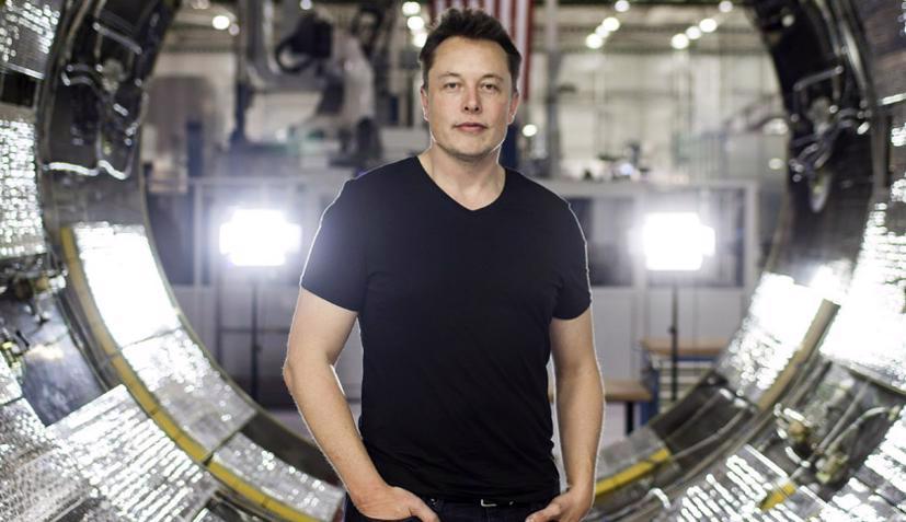 Tỷ phú Elon Musk - CEO của Tesla.