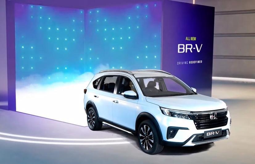 Honda BR-V 2022 lộ diện - Ảnh 2