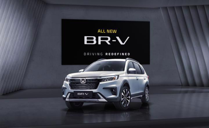 Honda BR-V 2022 lộ diện - Ảnh 1