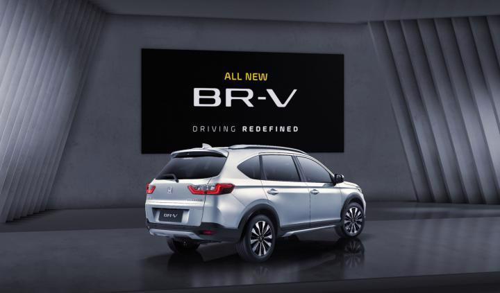 Honda BR-V 2022 lộ diện - Ảnh 3