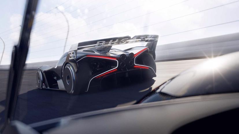 Bugatti Bolide - Hypercar đẹp nhất thế giới 2021 - Ảnh 9