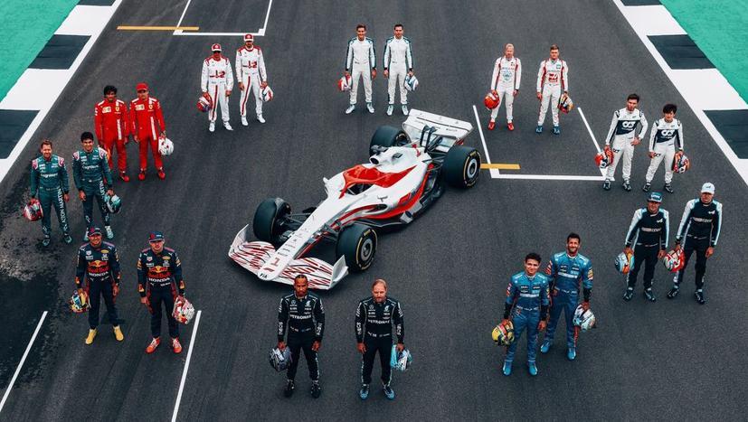 Xe đua F1 năm 2025 sẽ không phát thải 100%? - Ảnh 1