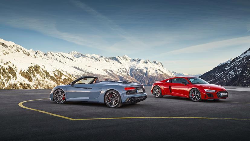 Audi R8 V10 Performance RWD 2022 lộ diện: Động cơ V10, 562 mã lực - Ảnh 1