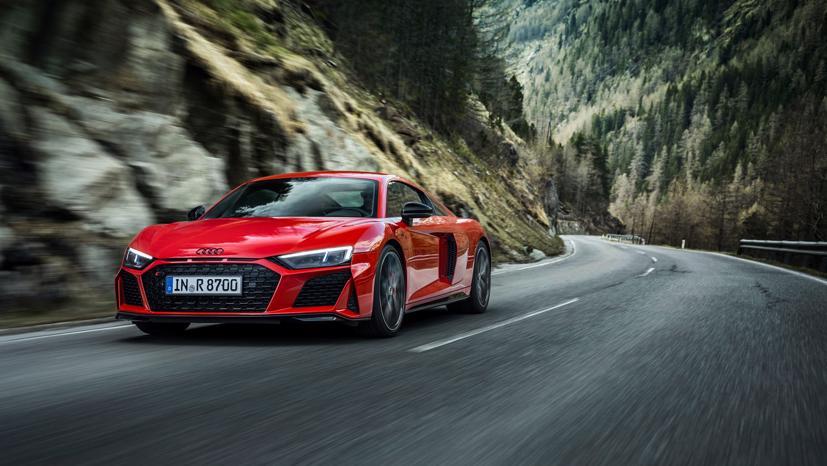 Audi R8 V10 Performance RWD 2022 lộ diện: Động cơ V10, 562 mã lực - Ảnh 8