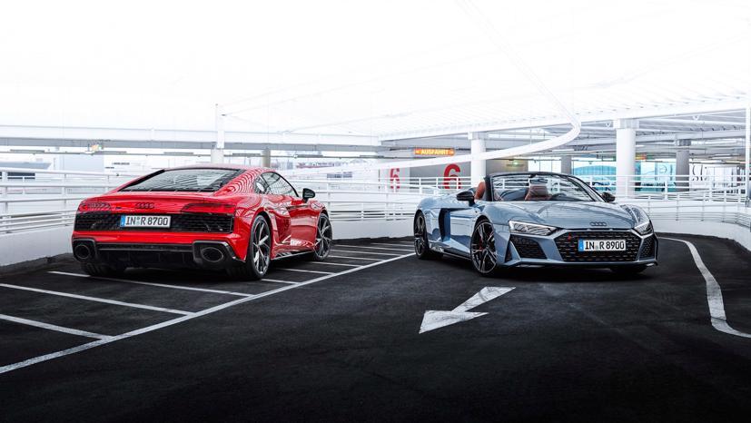 Audi R8 V10 Performance RWD 2022 lộ diện: Động cơ V10, 562 mã lực - Ảnh 6