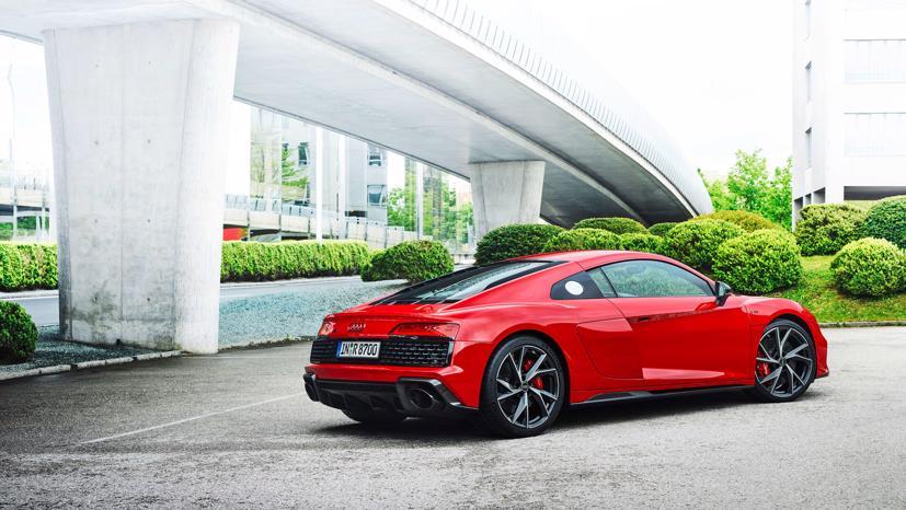 Audi R8 V10 Performance RWD 2022 lộ diện: Động cơ V10, 562 mã lực - Ảnh 3