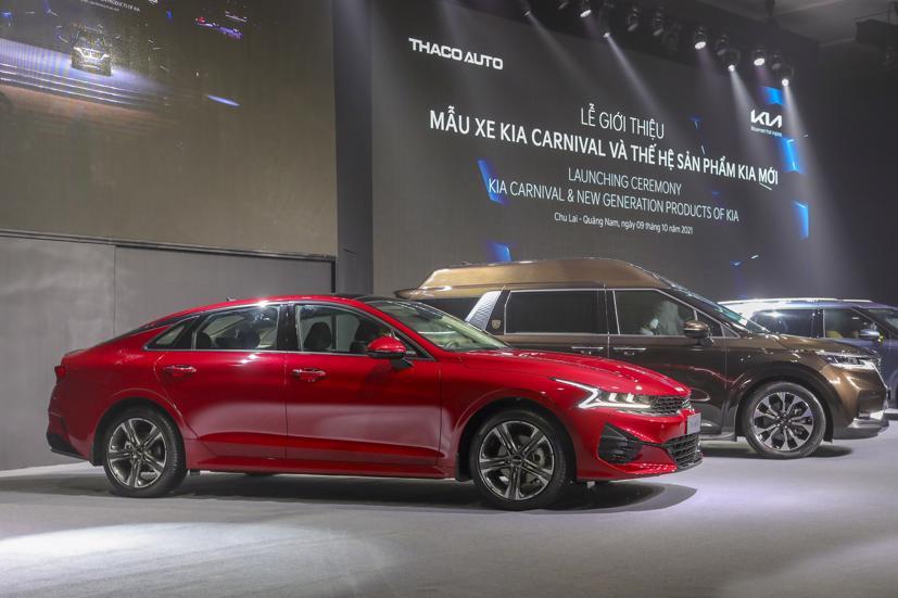 THACO AUTO chính thức giới thiệu mẫu xe Kia Carnival và thế hệ sản phẩm KIA mới.