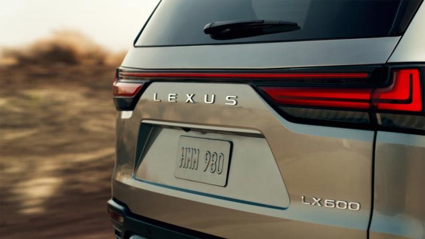 Hé lộ hình ảnh đầu tiên mẫu Lexus LX600 2022 - Ảnh 1