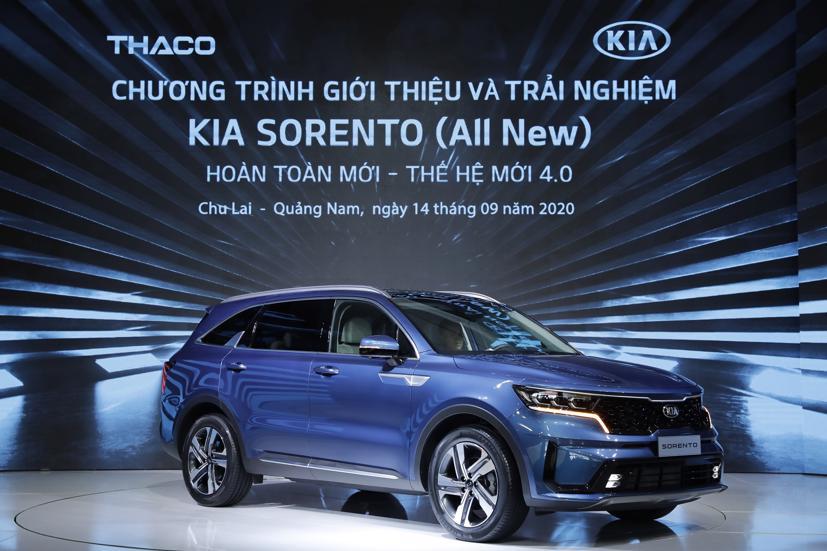 Ngày 14/9/2020, Kia Sorento hoàn toàn mới thế hệ 4.0 ra mắt thị trường Việt