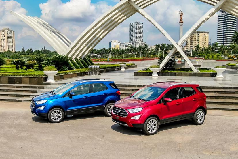 Hơn 300 xe Ford EcoSport bị triệu hồi để kiểm tra và sửa chữa